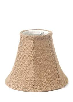 Urbanest 1100258 Chandelier Lamp Shade 6-inch, Bell, Clip On