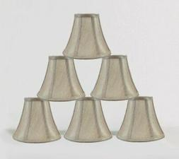 "Urbanest 1100848c 3x6x5"" Chandelier Lamp Shade, Champagne, S"