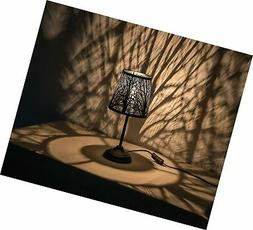 """15"""" H Bed Side Table Lamp Desk Lamp with Lamp Shade"""