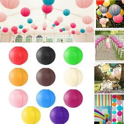 "16""/20"" Chinese Paper Lanterns Lamp Shade Wedding Birthday P"