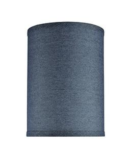 Aspen Creative 31112 Hardback Drum  Lamp Shade Washing Blue