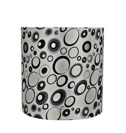 Aspen Creative 31231 Drum/Cylinder Spider Lamp Shade, Off Wh