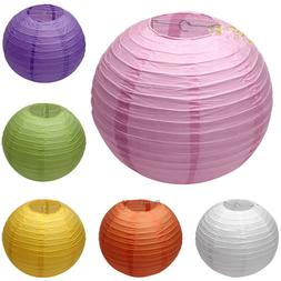 6 inch Chinese Round Paper Lanterns Lamp Shade Wedding Party