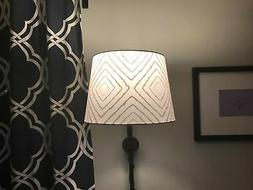 Lolli Living Grey Maze Lamp Shade