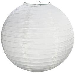 Science Purchase GEN75465 White Paper Lantern Lamp Shades 12
