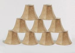 Urbanest 1100086d Set of 9 Chandelier Lamp Shade 6-inch Bell