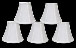 Urbanest 1100329b Chandelier Lamp Shades 6-inch, Bell, Clip