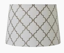 allen roth lamp shade set of 2–used, in perfect cond. grey