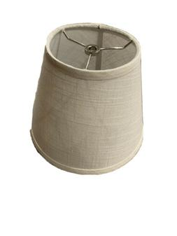 Tootoo Star Barrel White Small Lamp Shade for Table Lamps Re