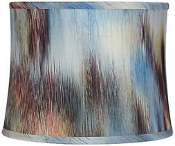 borealis multi color drum lamp shade 12x13x10