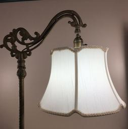 Bridge Floor Lamp Shade V Notch for Antique Lamp Tailor Made