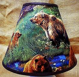 brown bear lampshade handmade lamp shade