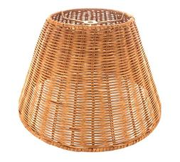 Upgradelights Medium Brown Wicker 12 Inch Empire Style Washe