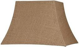 Natural Burlap Rectangle Lamp Shade 7/10x12/16x11
