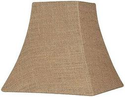 Burlap Square Lamp Shade 5.25/5.25x10x10x9.5