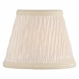 Lite Source Candelabra Lamp Shade - Pleated Coolie
