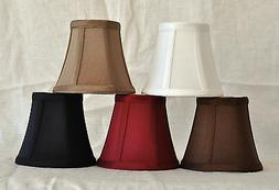 Urbanest Chandelier Lamp Shade Bell Silk Softback w/ Double