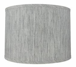 Urbanest Classic Drum Smooth Linen Lamp Shade