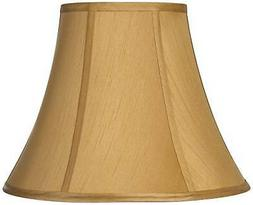 coppery gold bell lamp shade