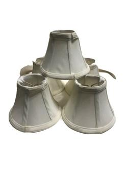 Urbanest Cream Chandelier Mini Lamp Shade Clip On Bell Softb