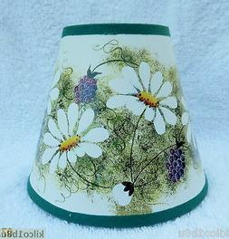 DAISIES Paper Mini Chandelier Lamp Shade Multi-Color, Tradit