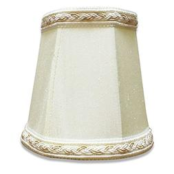 "Royal Designs 4"" Deep Empire Chandelier Lamp Shade with top"