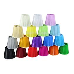 DIA 12cm modern lace Chandelier lampshades, white black pink