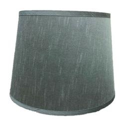 Dupioni Silk Lamp Shade Light Platinum Gray