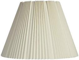 Eggshell Pleated Lamp Shade 9x17x12.25