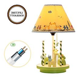 Fantasy Animals yiiyaa Kids Table Lamp Imagination Inspiring