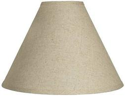 Fine Burlap Empire Shade 5x15x11.5