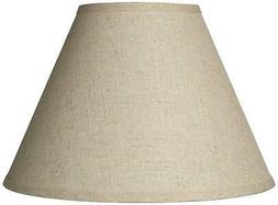 Fine Burlap Empire Shade 6.5x15x10.75