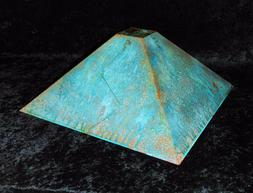 Franz GTK Lamp Shade Copper Green Patina 18""