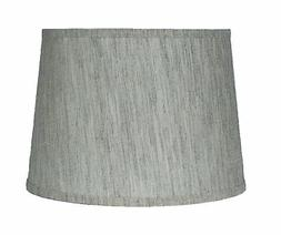 Urbanest French Drum Lamp Shade,Textured Flax Linen, 12x14x1
