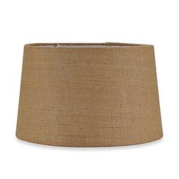 Mix & Match Large 16-Inch Hardback Burlap Drum Lamp Shade in