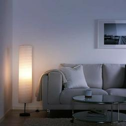 IKEA HOLMO Floor Lamp With 400 lm LED Bulb and Rice Paper Sh