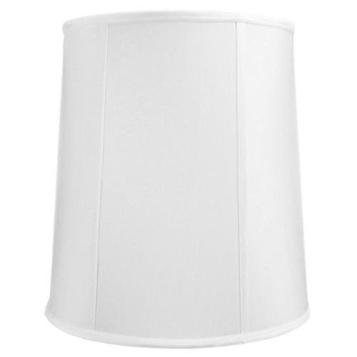 121415drwh linen fabric drum lampshade
