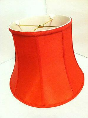 """12""""Red Lampshade Modify Bell Shade"""