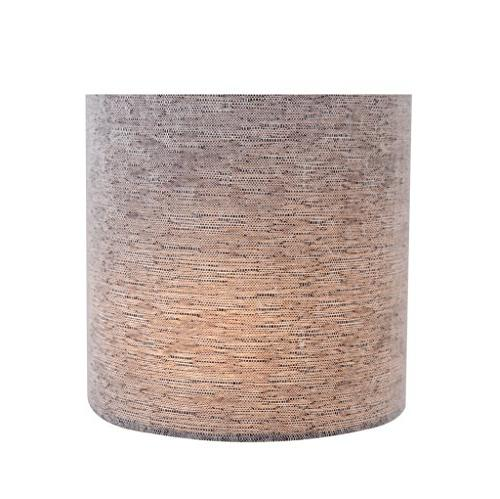 "Aspen 31191 Lamp Shade 5"" 5"" x 5"" 5"", Grey"