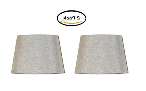 PACK OF 2 - Better Homes and Gardens Medium Textured Lamp Sh
