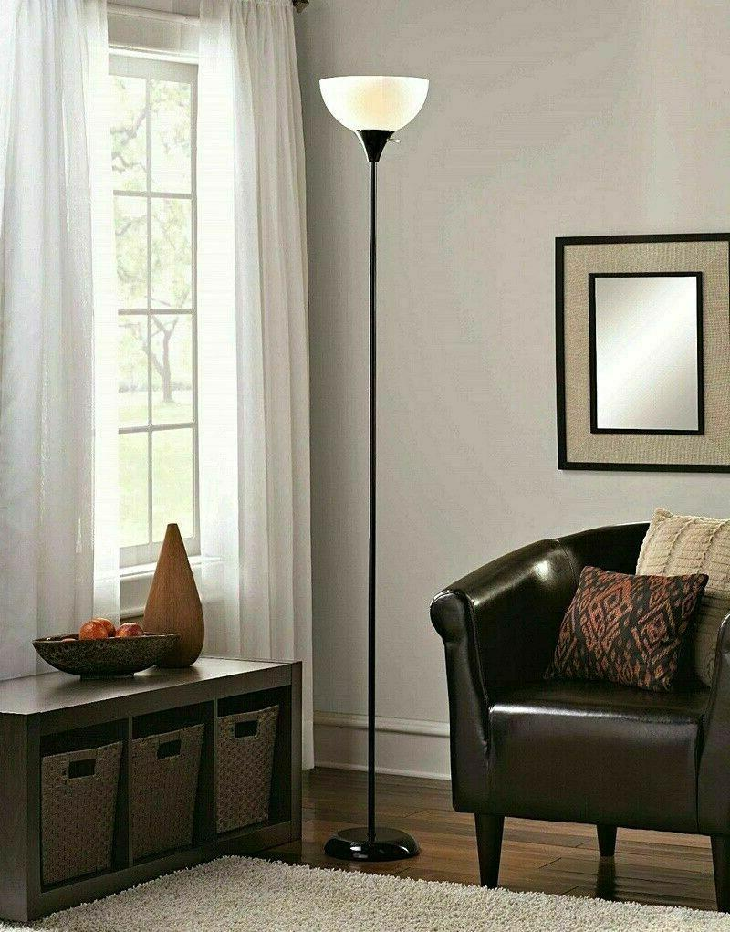 Natural Fabric Bell Lamp Shade Off-White Allen Roth 7in X 8i