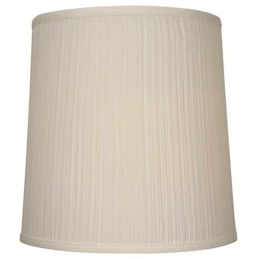 Allen + Roth Traditional Beige Fabric Drum Lamp Shade - Whic
