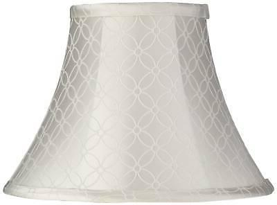 an qing off white bell lamp shade