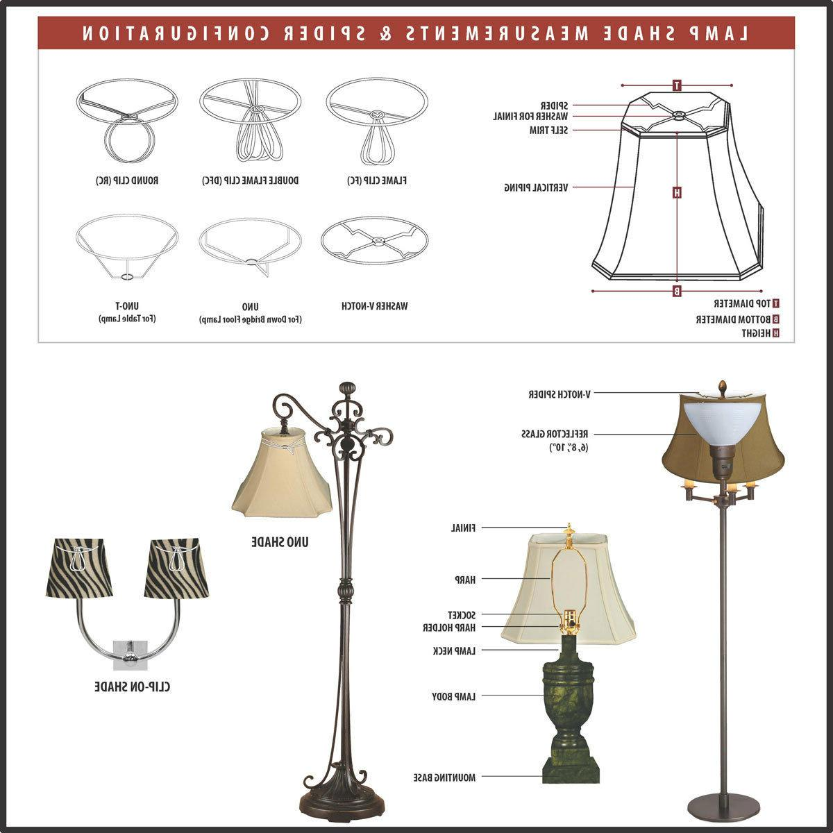 Beige Decorative Bottom Trim Chandelier Lamp