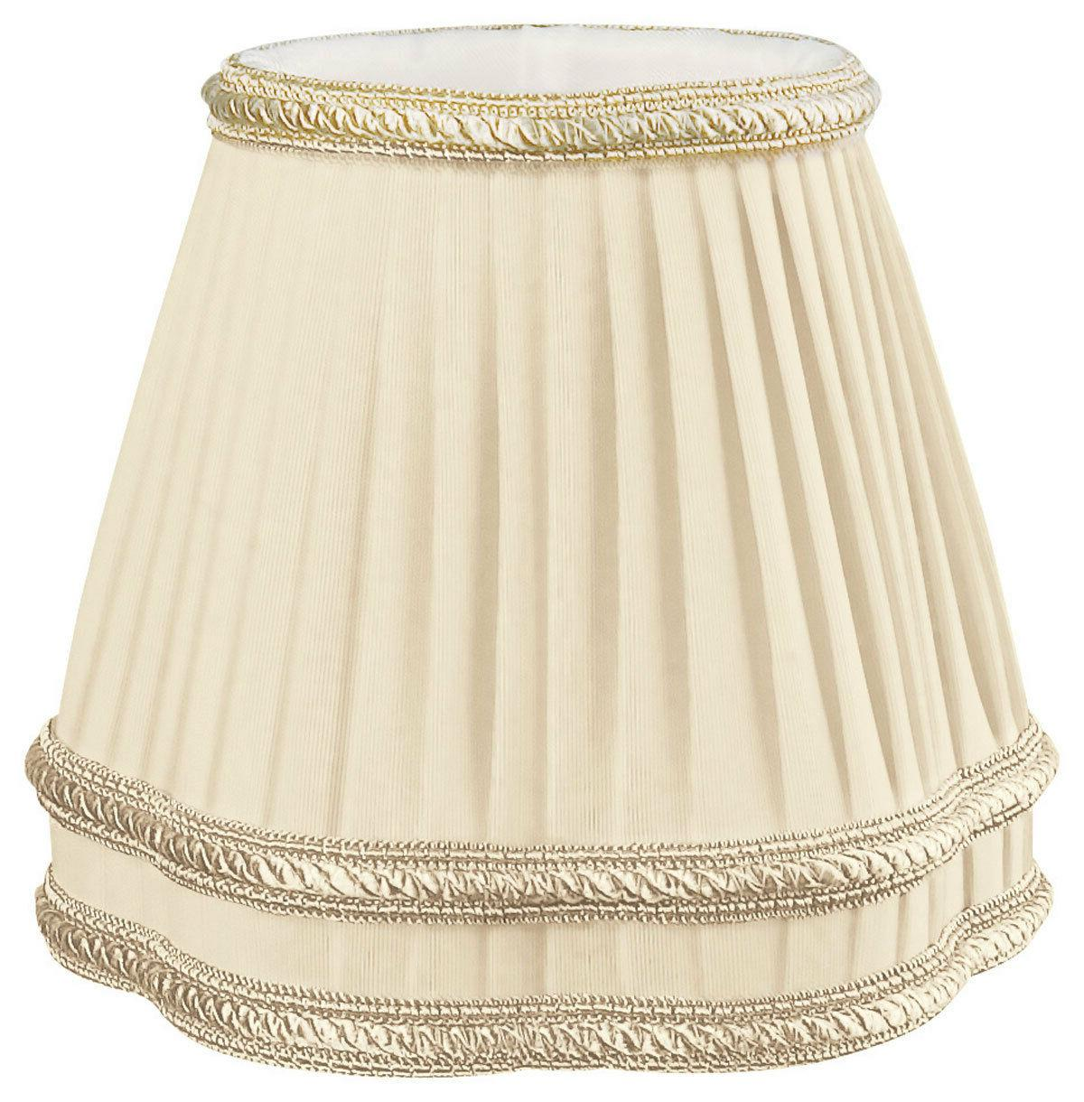 Beige with Bottom Trim Lamp