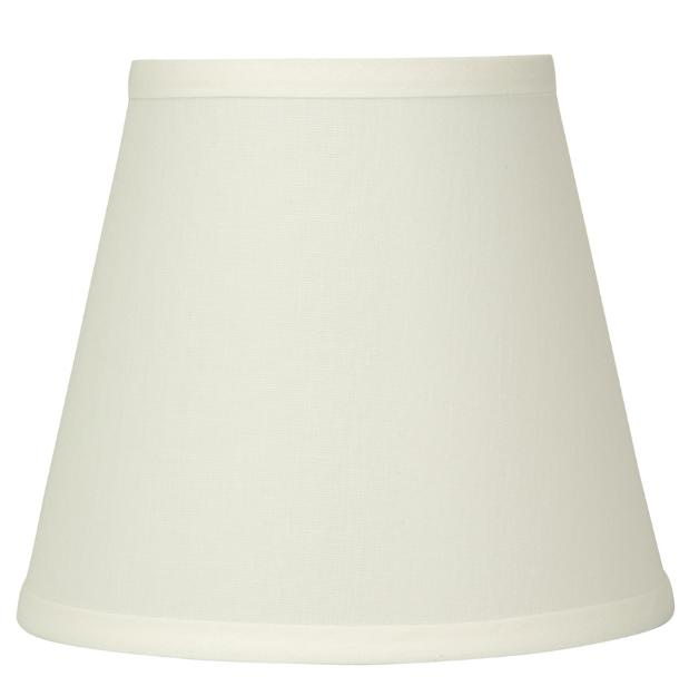 bell lamp shade fabric frame natural off