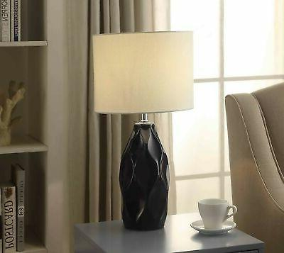Better Homes Blue Faceted Lamp