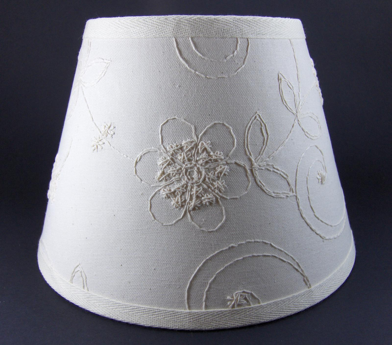 candlewicking candlewick classic white fabric lampshade lamp