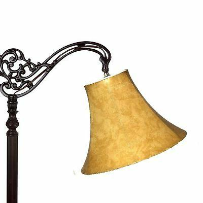 coffee leather bell lamp shade