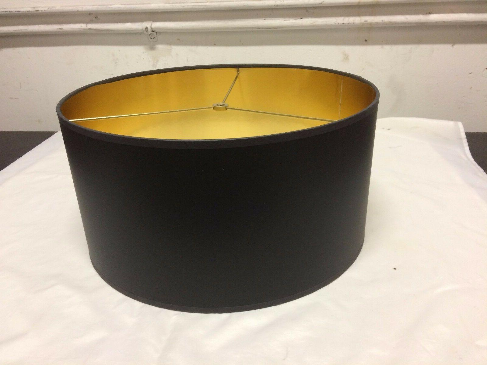 contemporary drum shape lamp shade 16 w